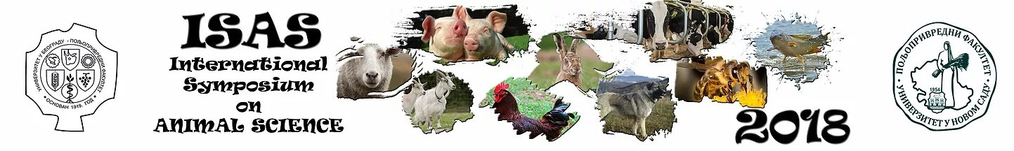 The International Symposium on Animal Science (ISAS) 2018