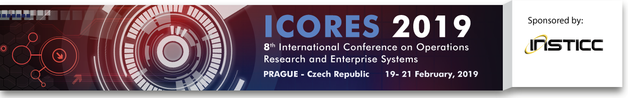 ICORES 2019 8th International Conference on Operations Research and Enterprise Systems
