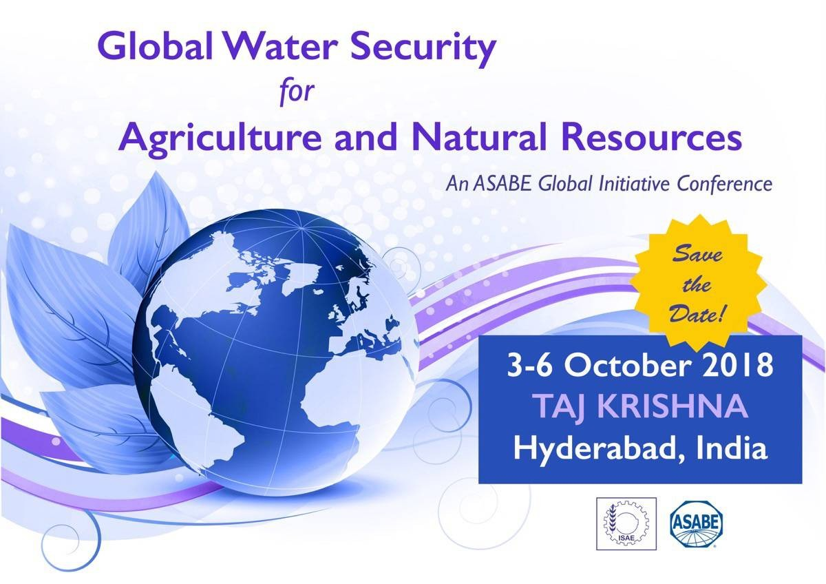 Global Water Security Conference for Agriculture and Natural Resources